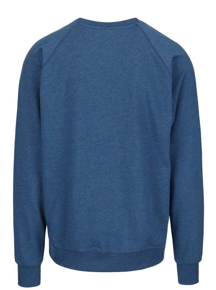 Bluză sport albastră  Horsefeathers Timothy cu logo print