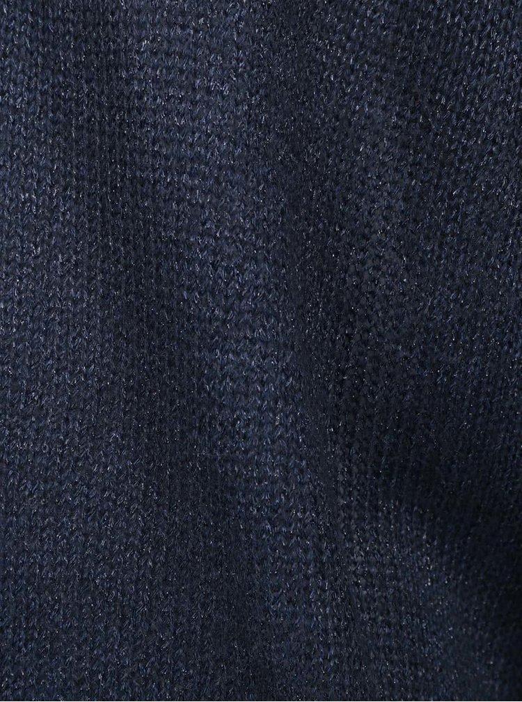 Tmavě modrý třpytivý cardigan VERO MODA Safina