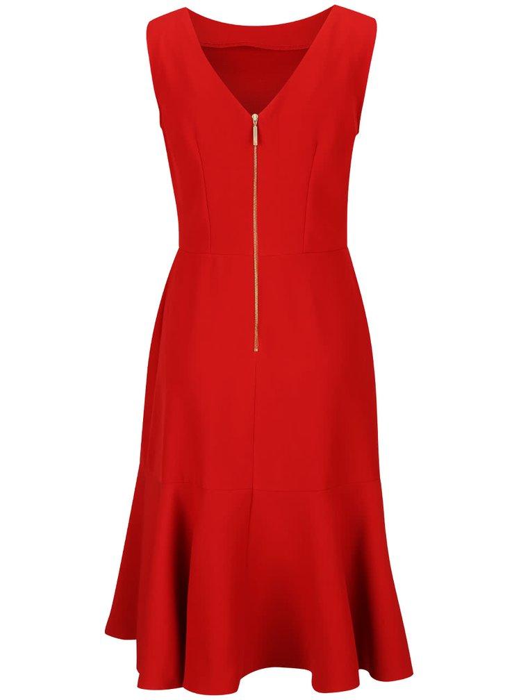 Rochie roșie Closet cu volane