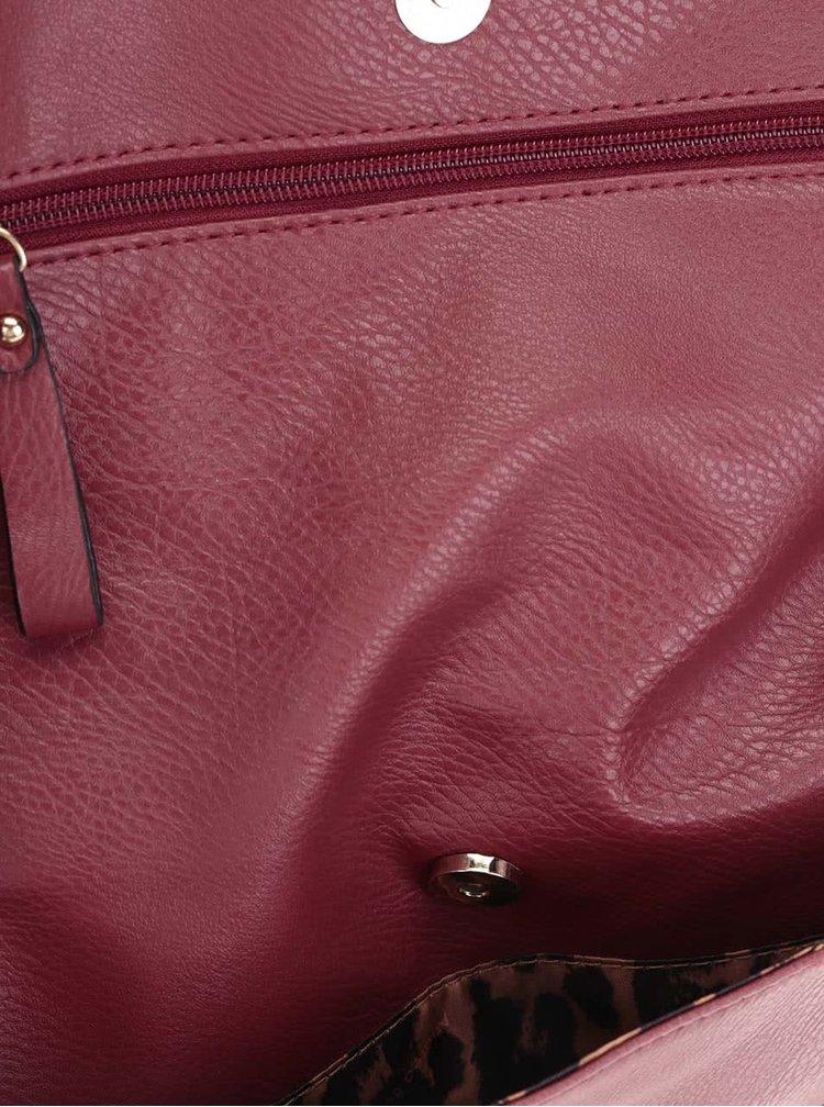 Geantă roșie Andrea Bucci crossbody
