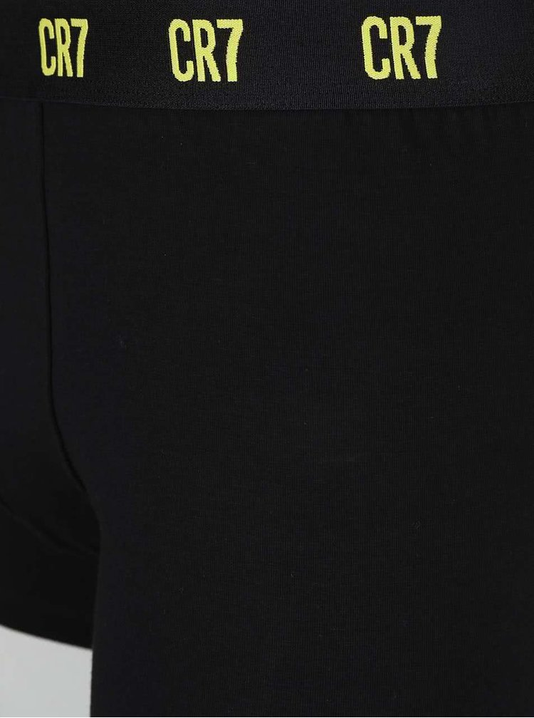 Set de 3 perechi de boxeri negri CR7