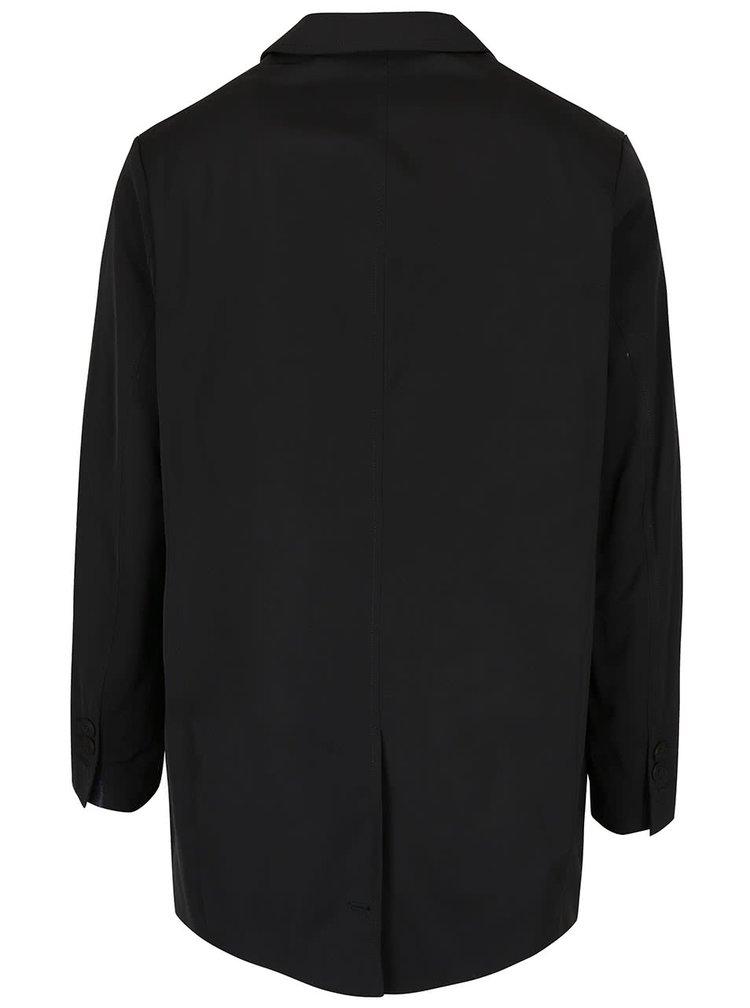 Černý kratší kabát Bertoni