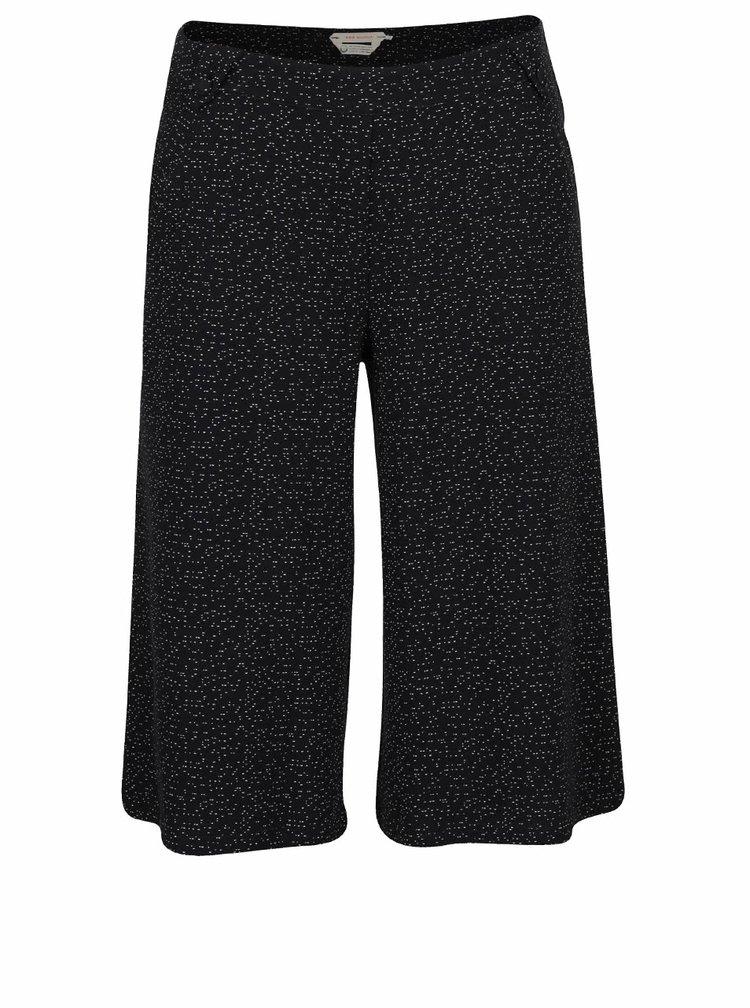 Čierne vzorované culottes Skunkfunk Merida