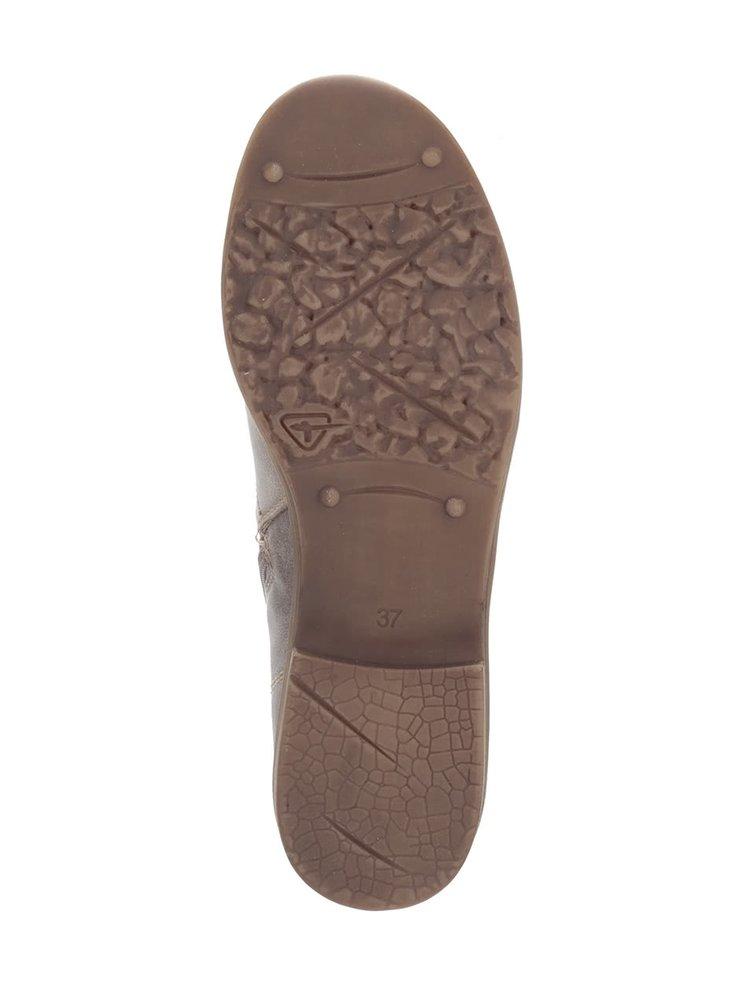 Svetlohnedé členkové topánky s remienkom Tamaris