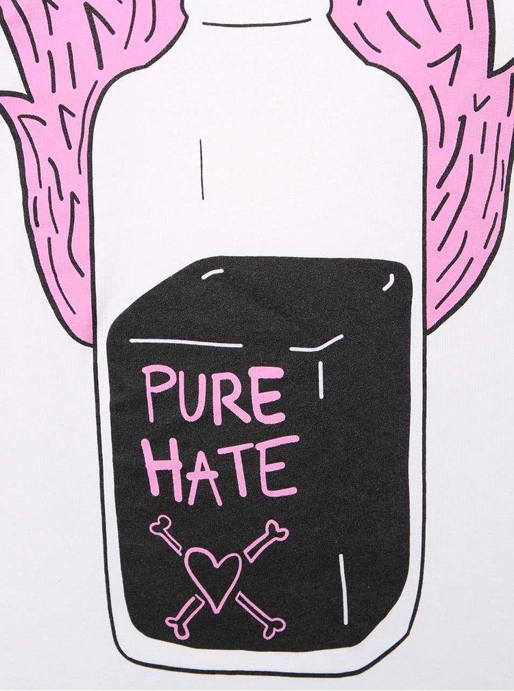 Bílé dámské tričko s potiskem čisté nenávisti ZOOT Originál Poison