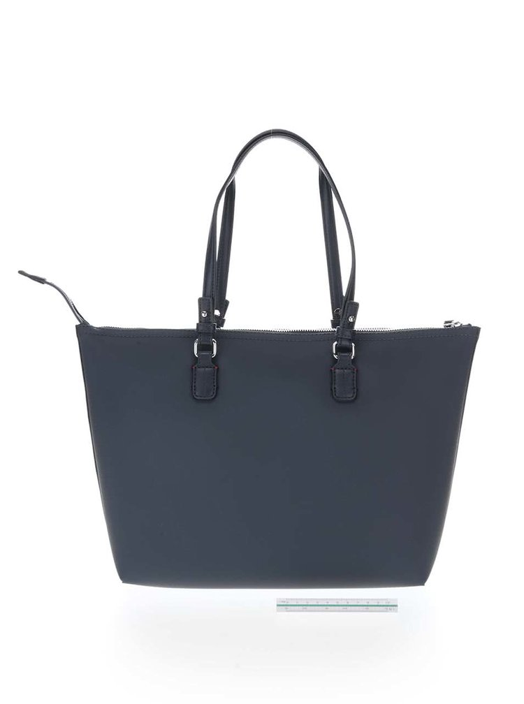 Tmavě modrá oboustranná kabelka Tommy Hilfiger