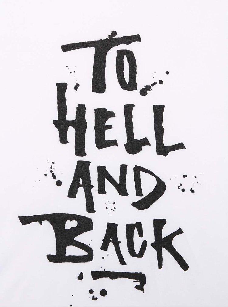 Bílé dámské tričko s nápisem ZOOT Originál To Hell