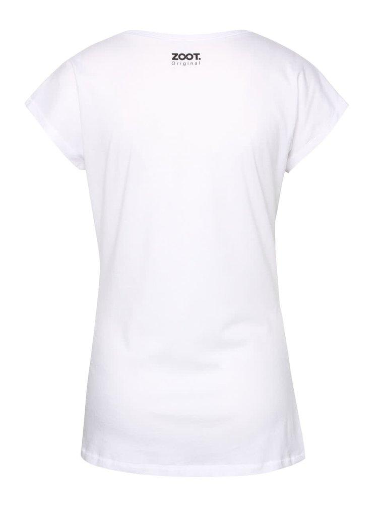 Bílé dámské tričko s potiskem ZOOT Originál Tattoo