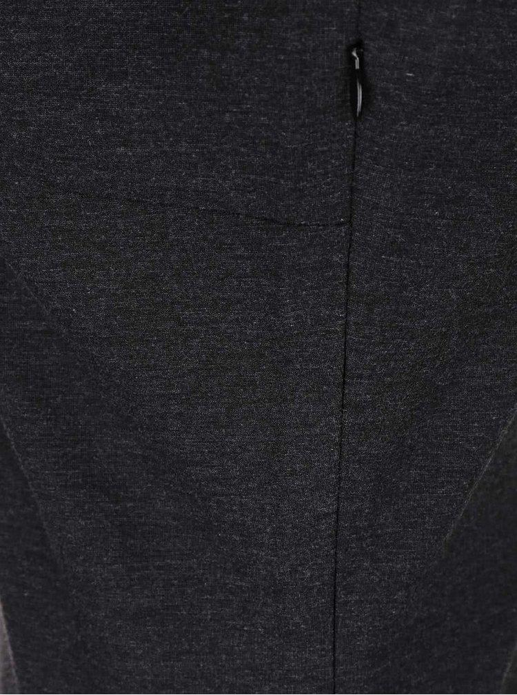 Tmavě šedé šaty bez rukávů Skunkfunk Minnie