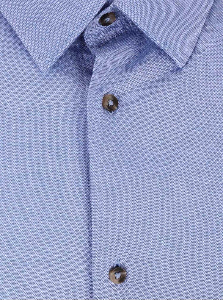 Cămașă albastru deschis Bertoni James din bumbac