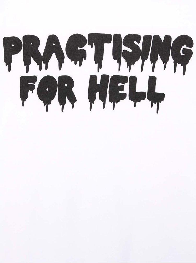 Bluză alb cu negru ZOOT Original Practising de damă
