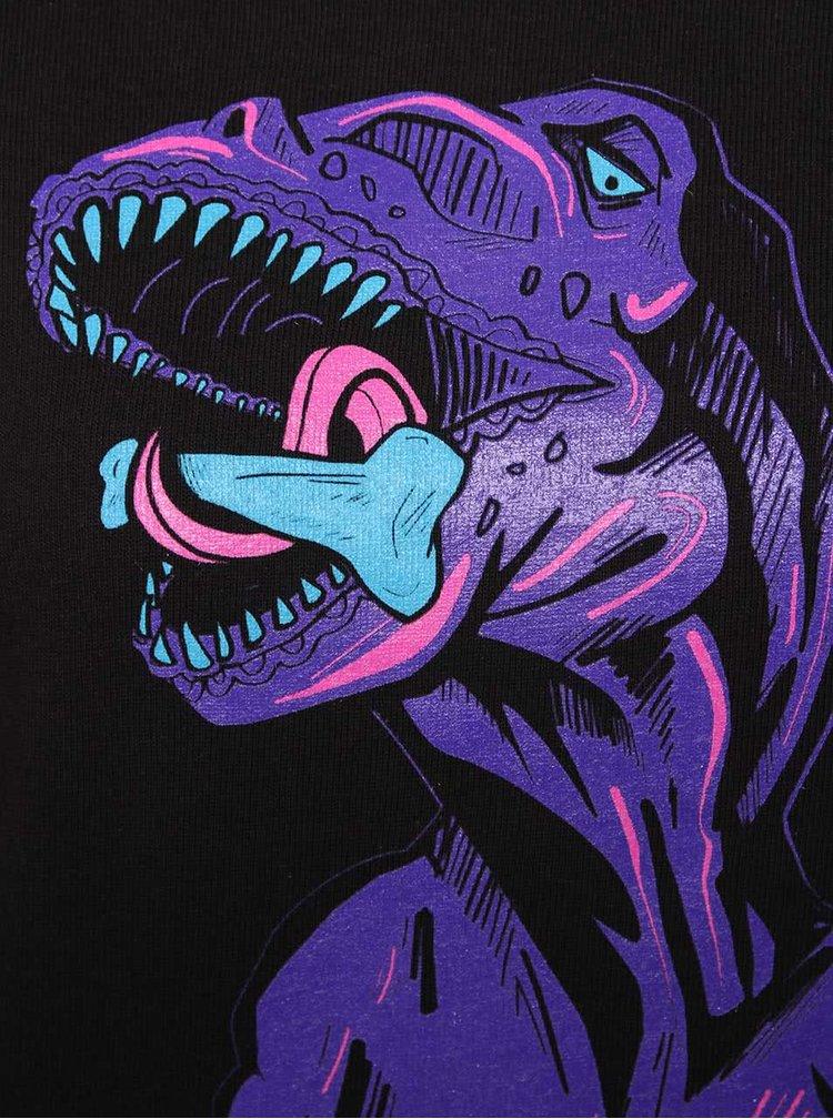 Černá dámská mikina s dinosaurem ZOOT Originál Dino