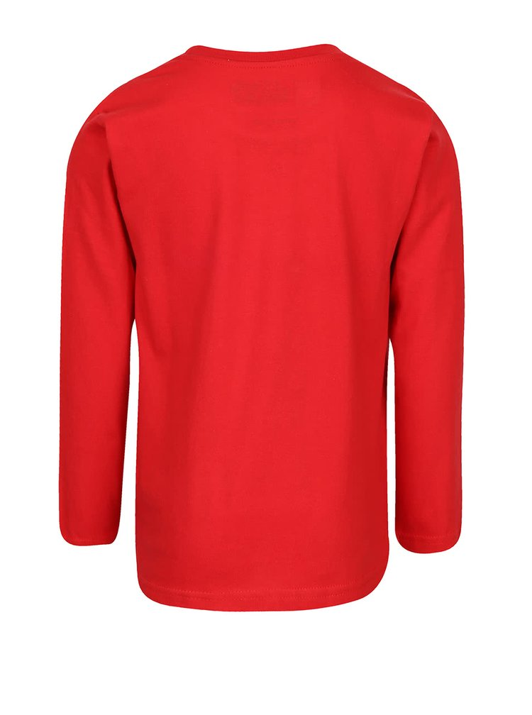 Červené chlapčenské tričko s dlhým rukávom LEGO Wear