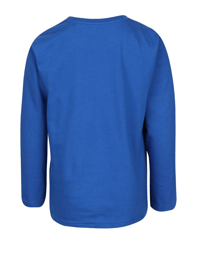 Bluză albastră LEGO Wear cu imprimeu