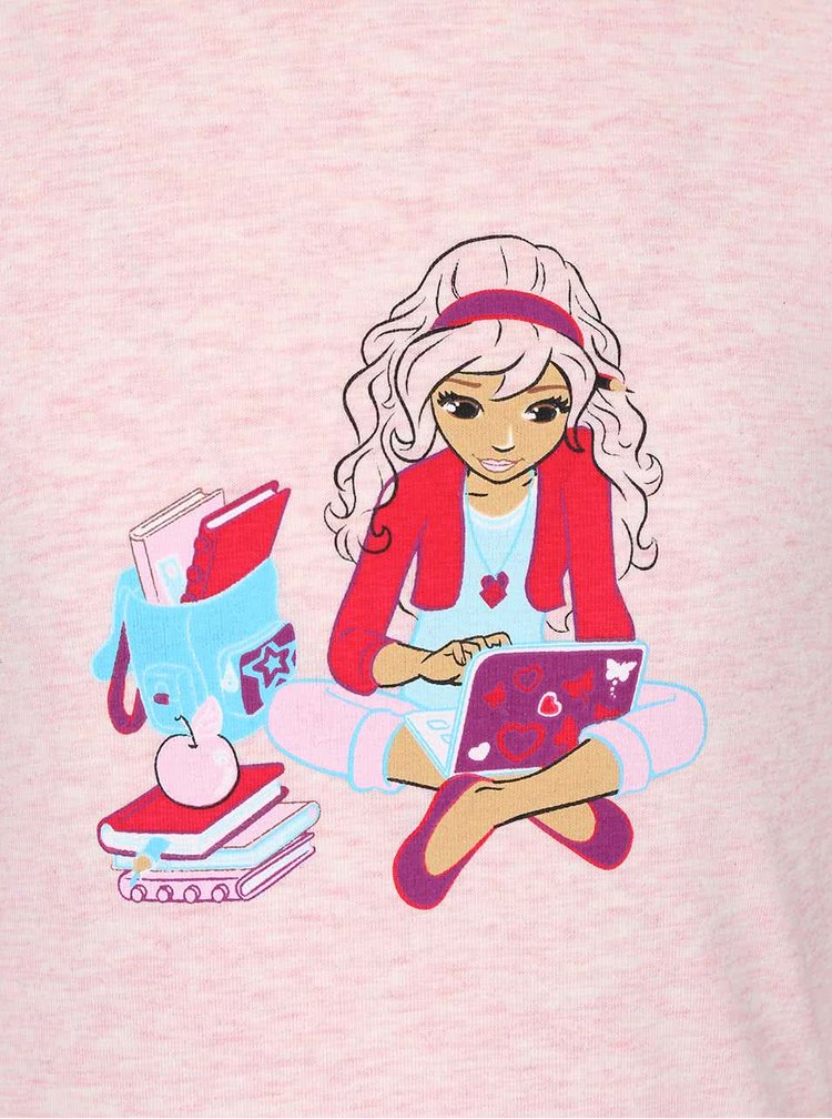 Růžové holčičí pyžamo LEGO Wear Nevada