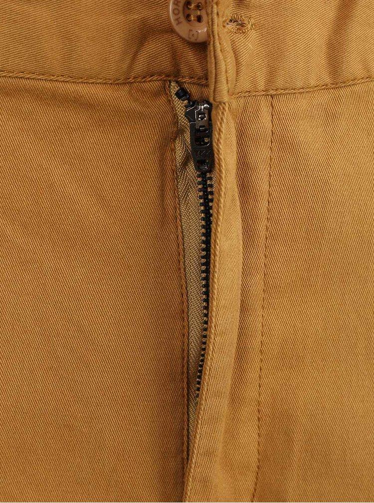 Pantaloni Horsefeathers Johnny maro deschis