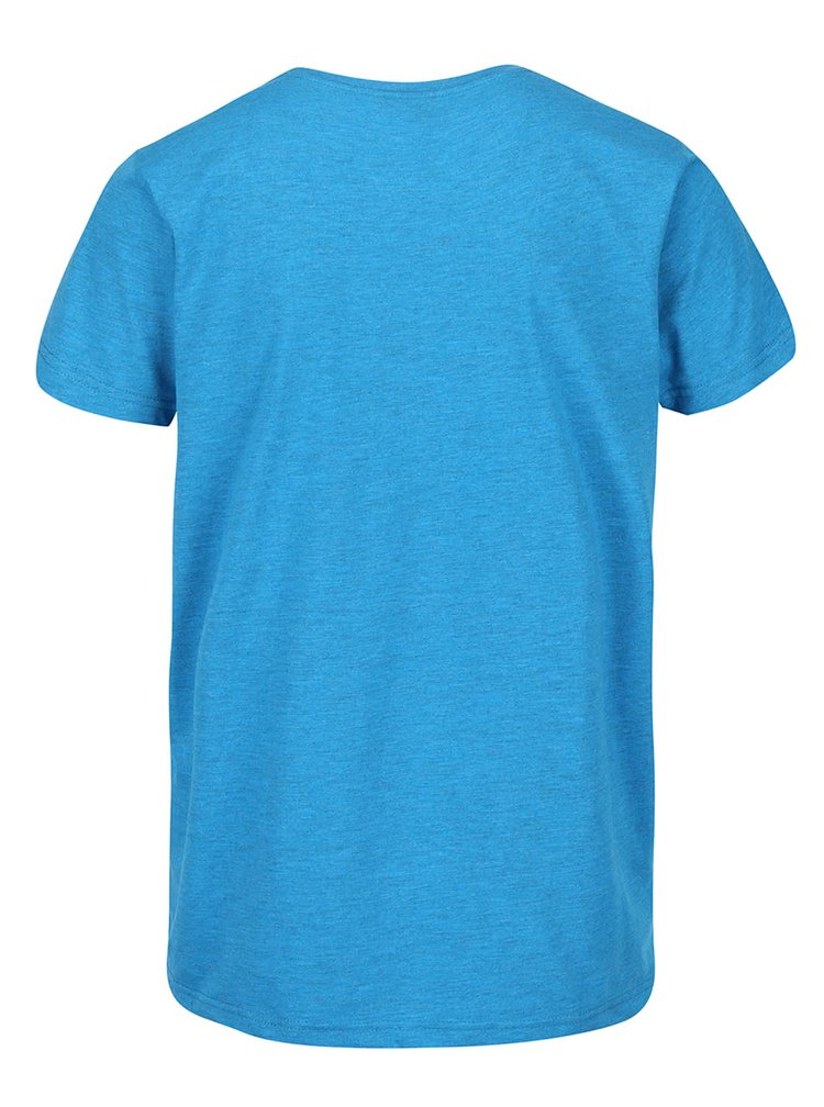 Modré pánské triko s potiskem Horsefeathers Cross