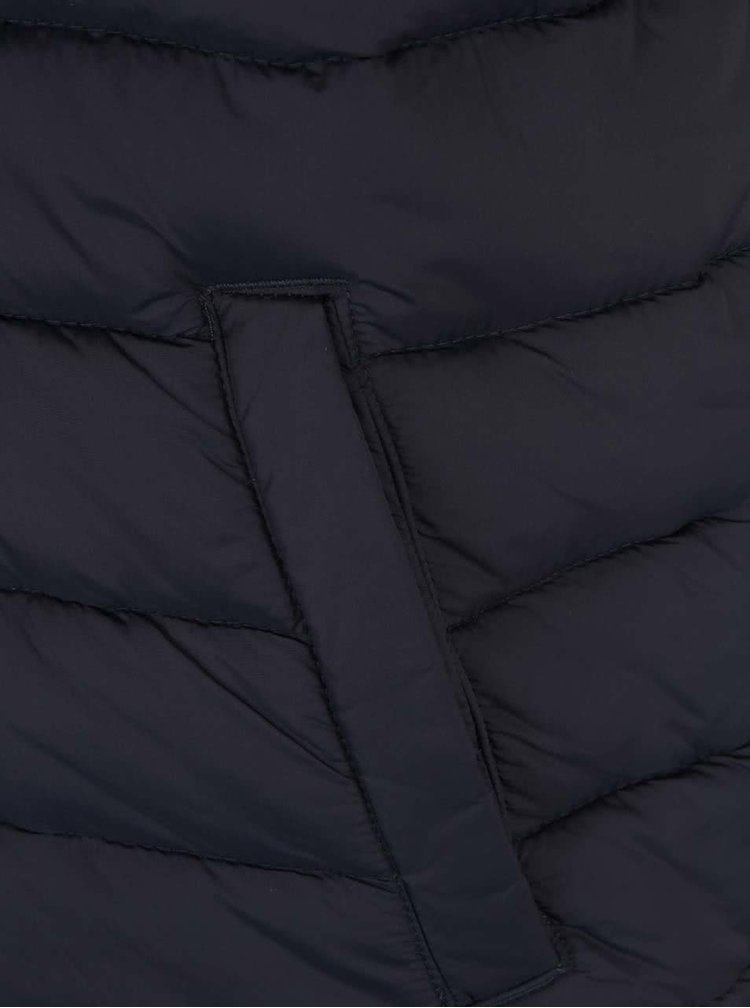 Tmavě modrá prošívaná vesta Jack & Jones Originals Strong