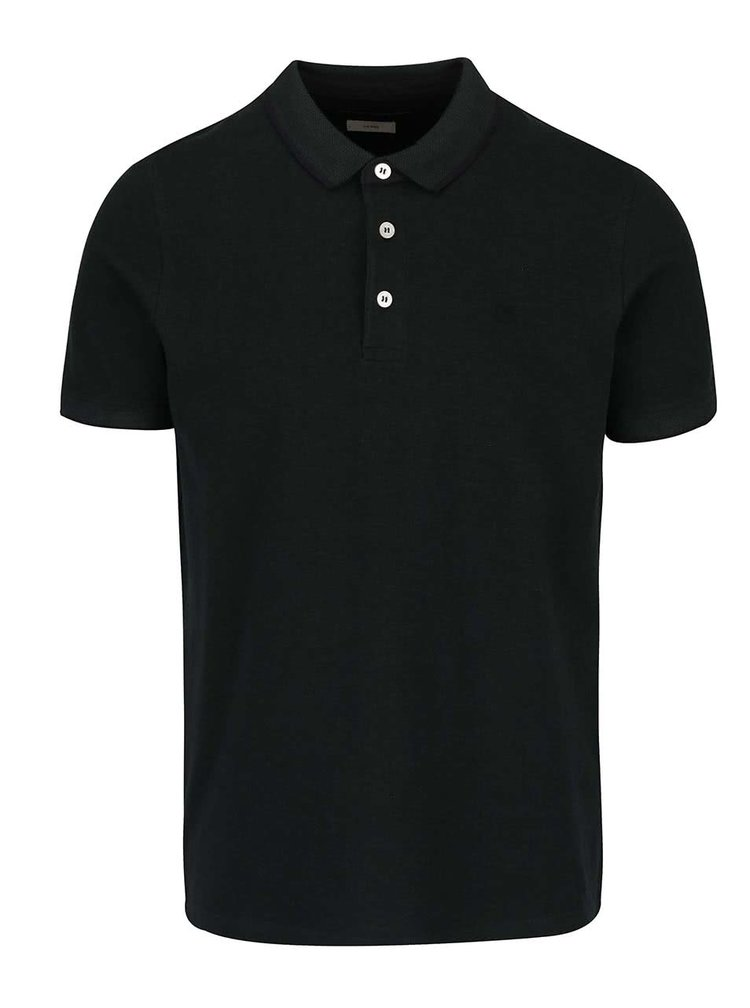 Tricou polo verde inchis Jack & Jones Paulos din bumbac
