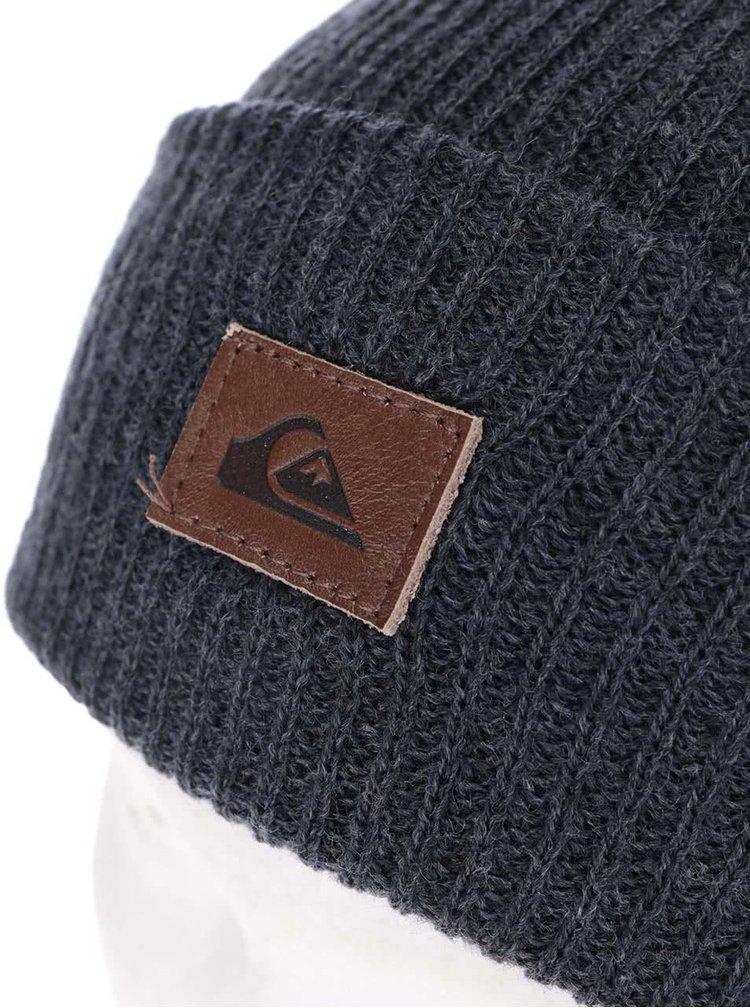 Tmavě modrá pánská čepice s logem Quiksilver Performer
