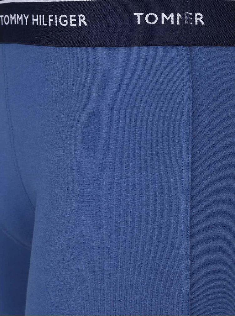 Sada tří modrých boxerek Tommy Hilfiger