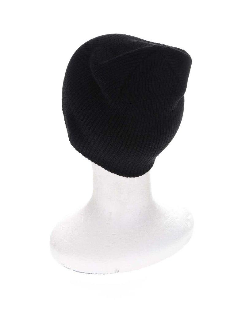 Černá pánská čepice Quiksilver Cushy