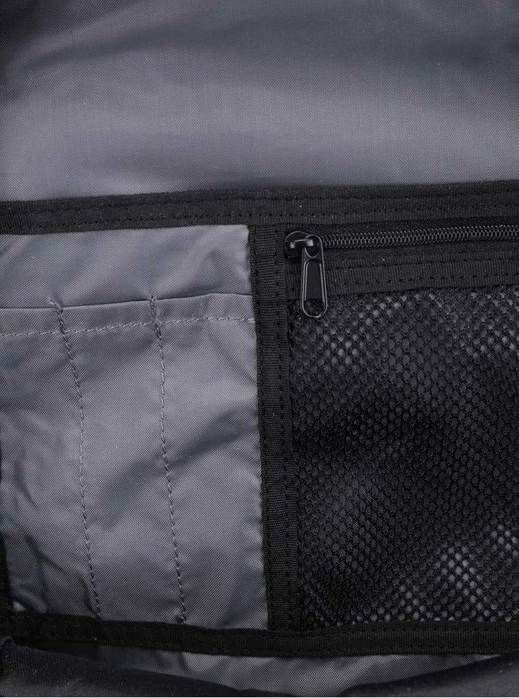 Rucsac negru Quiksilver Schoolie cu buzunare laterale