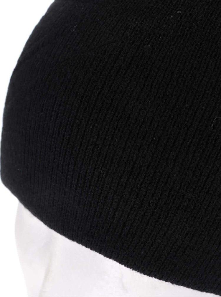 Čierna pánska čapica 2 v 1 Quiksilver Heatbag
