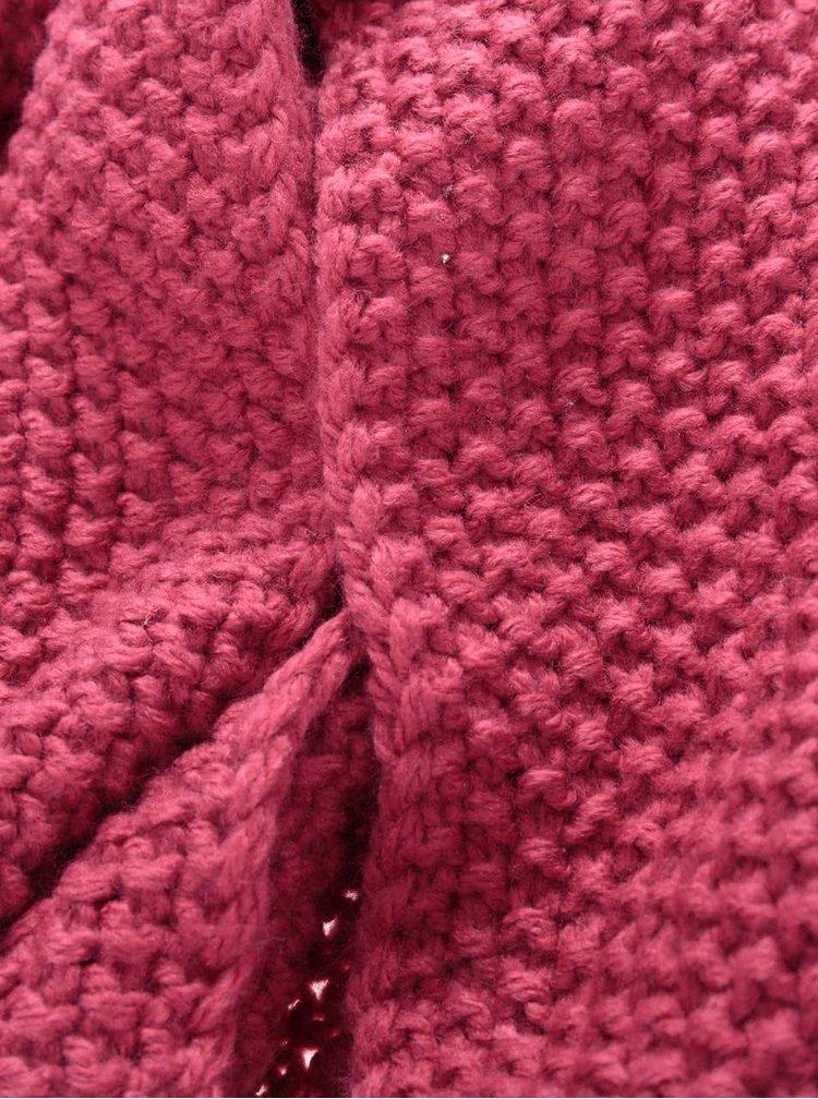 Ružový šál Roxy Stay