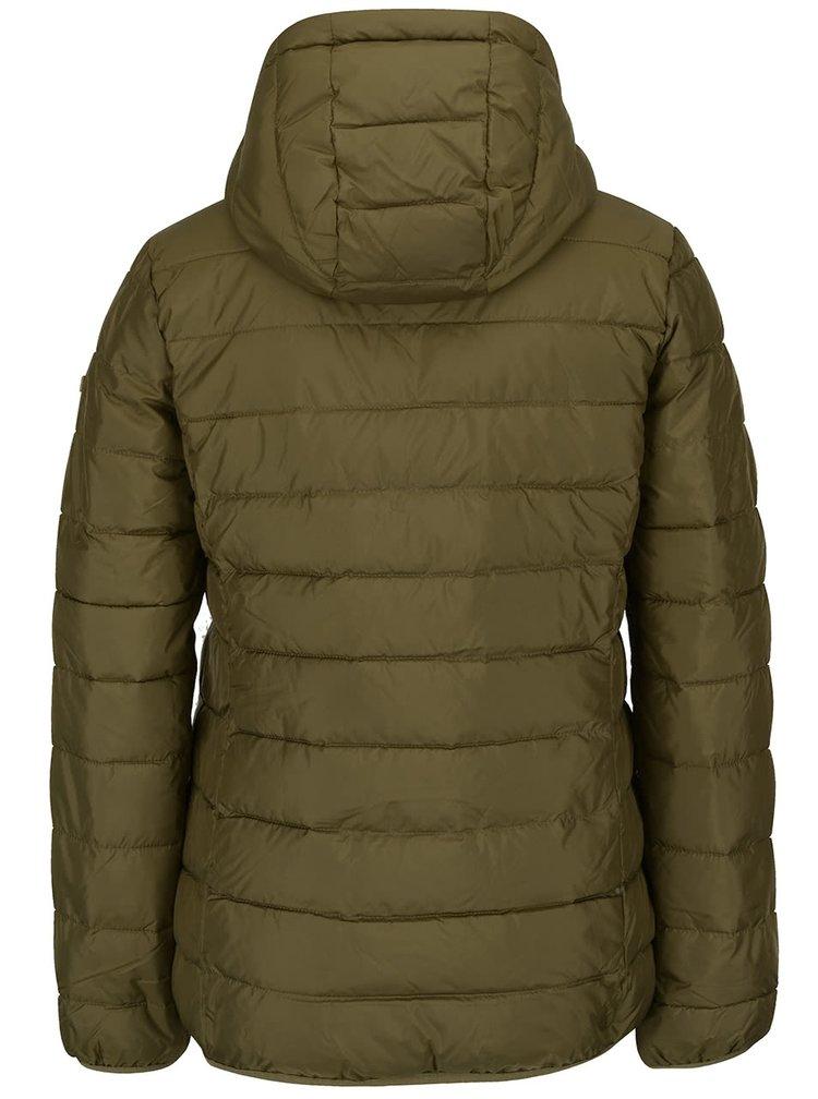Jachetă kaki Roxy Foreverfreely matlasată