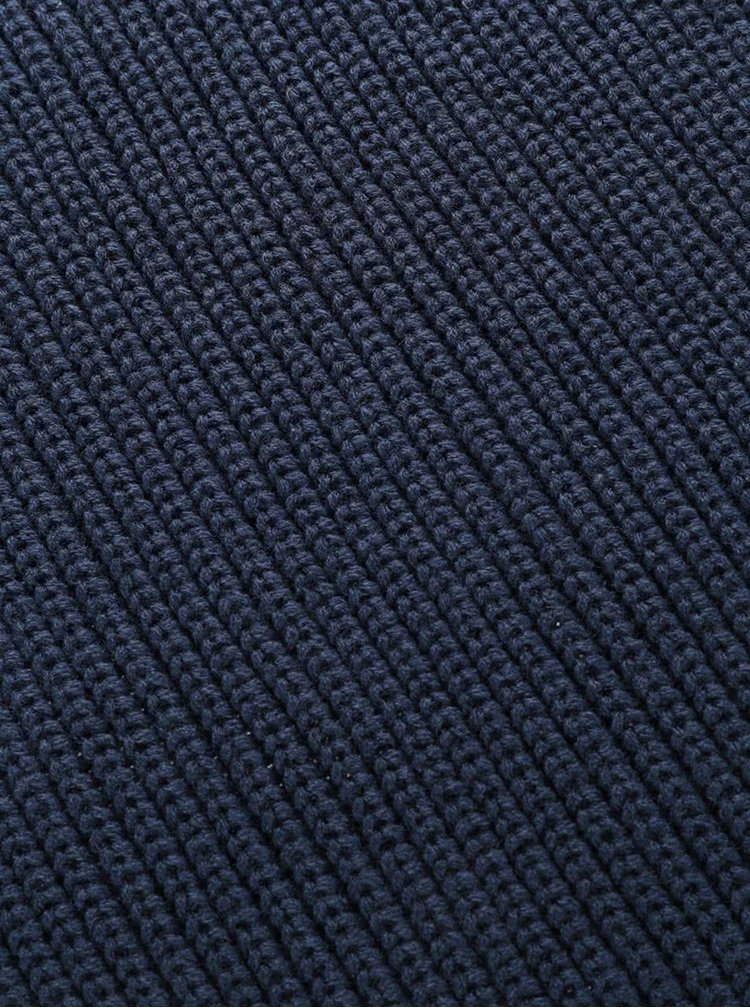 Fular circular albastru închis Jack & Jones Crib