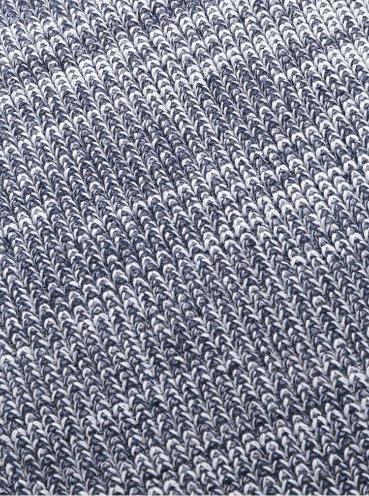 Fular circular crem & albastru Jack & Jones Crib