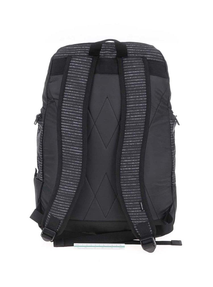 Šedo-černý pánský  batoh s pruhy Quiksilver Special