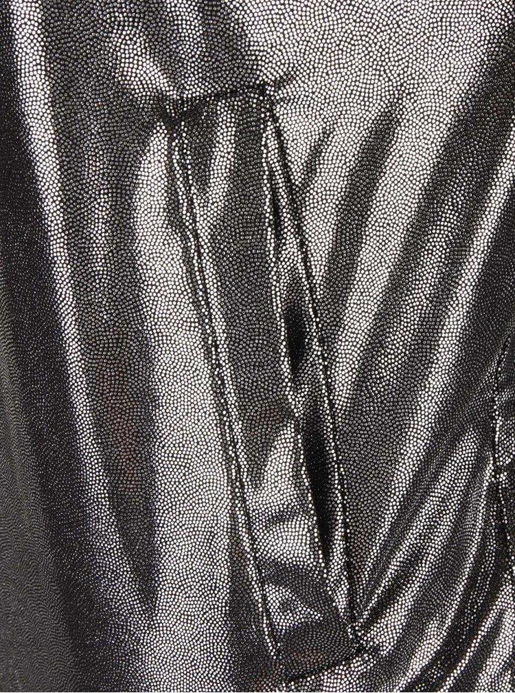 Lehký bomber ve stříbrné barvě Haily´s Shiny
