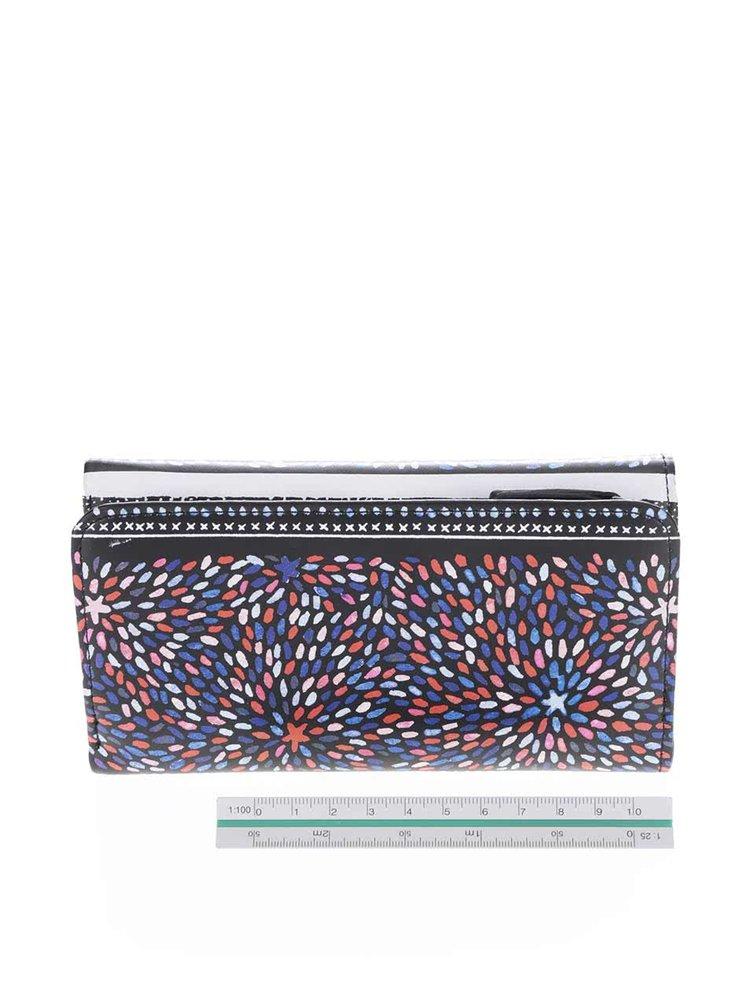 Korálovo-modrá vzorovaná peněženka Roxy My
