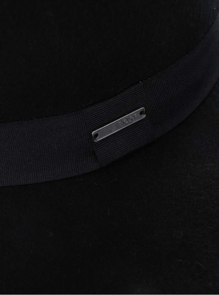 Pălărie neagră Roxy Love din bumbac