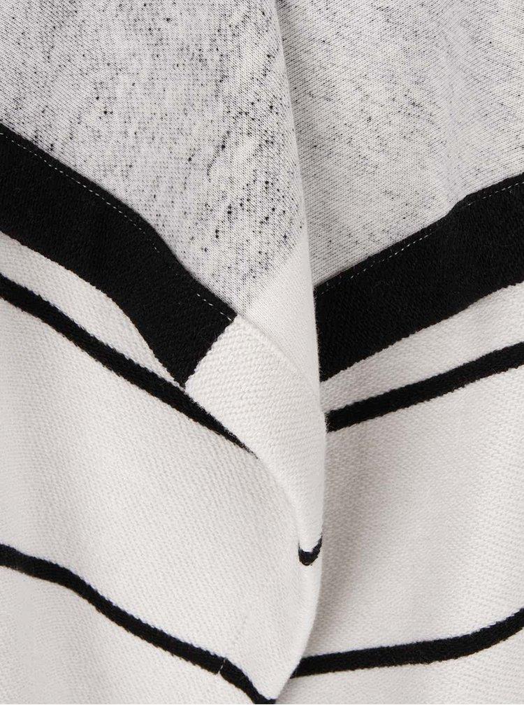 Krémovo-černý pruhovaný cardigan Roxy Chill