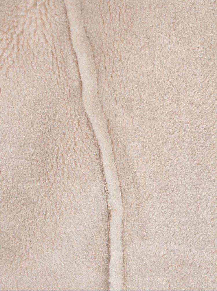 Krémový blejzer v semišovej úprave Haily's Felia