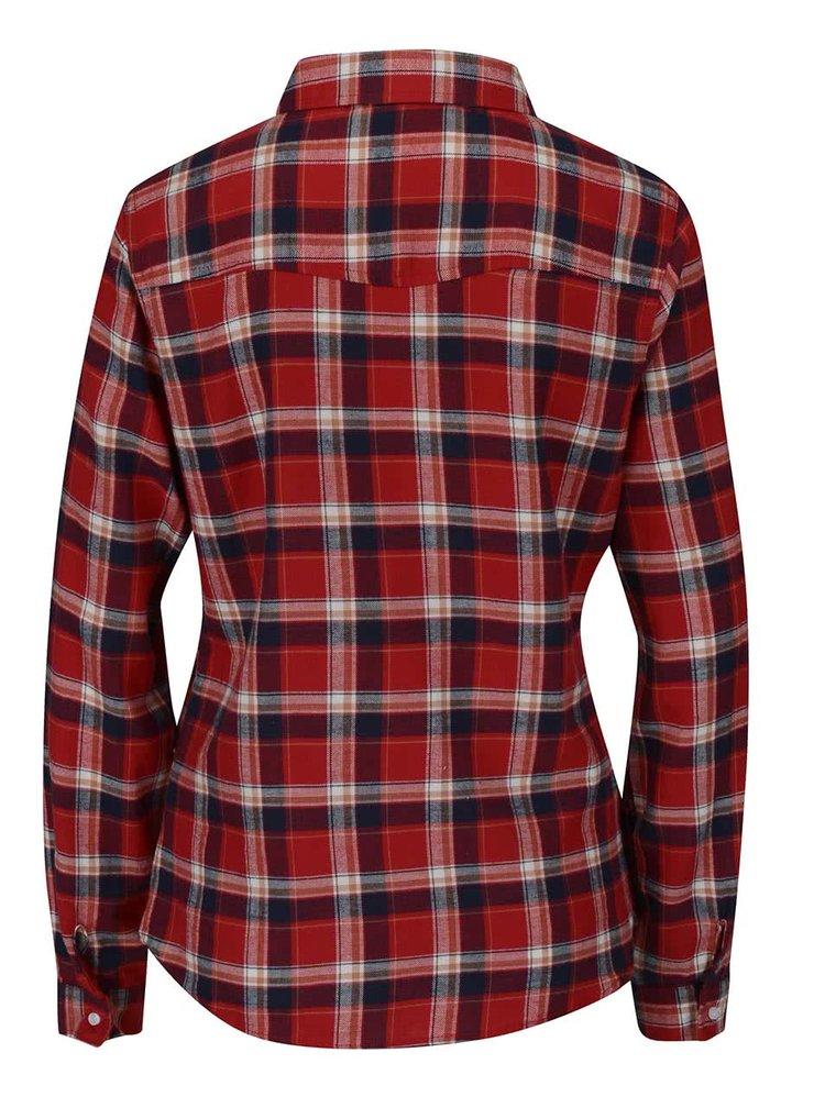 Modro-červená košeľa Haily's Tanya
