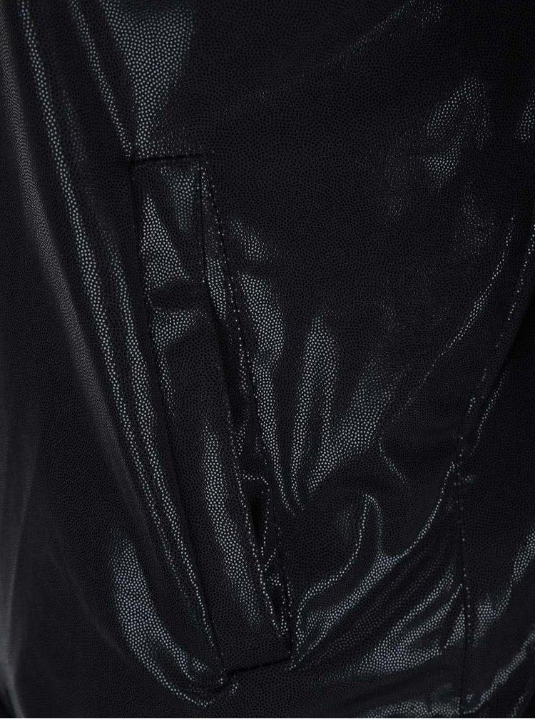 Ľahký čierny bomber Haily's Shiny