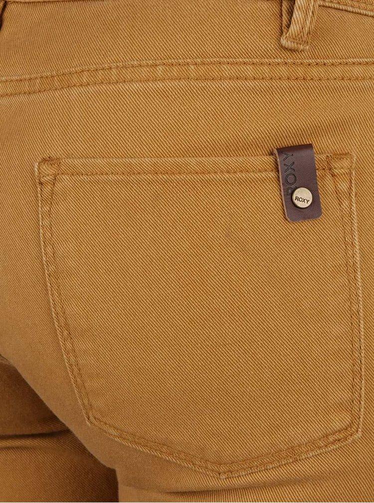 Hořčicové skinny džíny Roxy Suntrippers