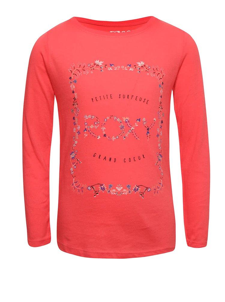 Bluza roz Roxy pentru fete