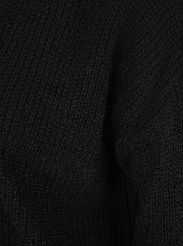 Cardigan negru Miss Selfridge cu detalii la spate