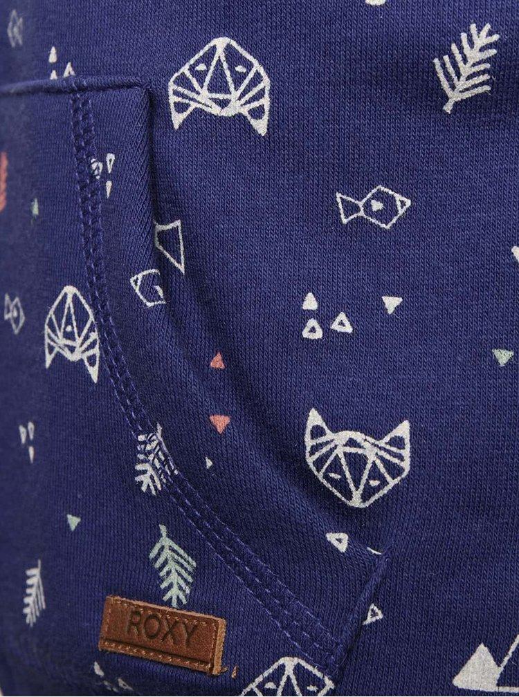 Hanorac albastru Roxy pentru fete