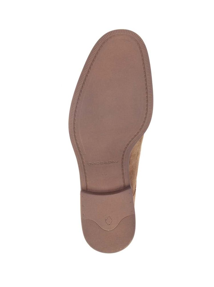 Pantofi maro Vagabond Mario din piele intoarsa
