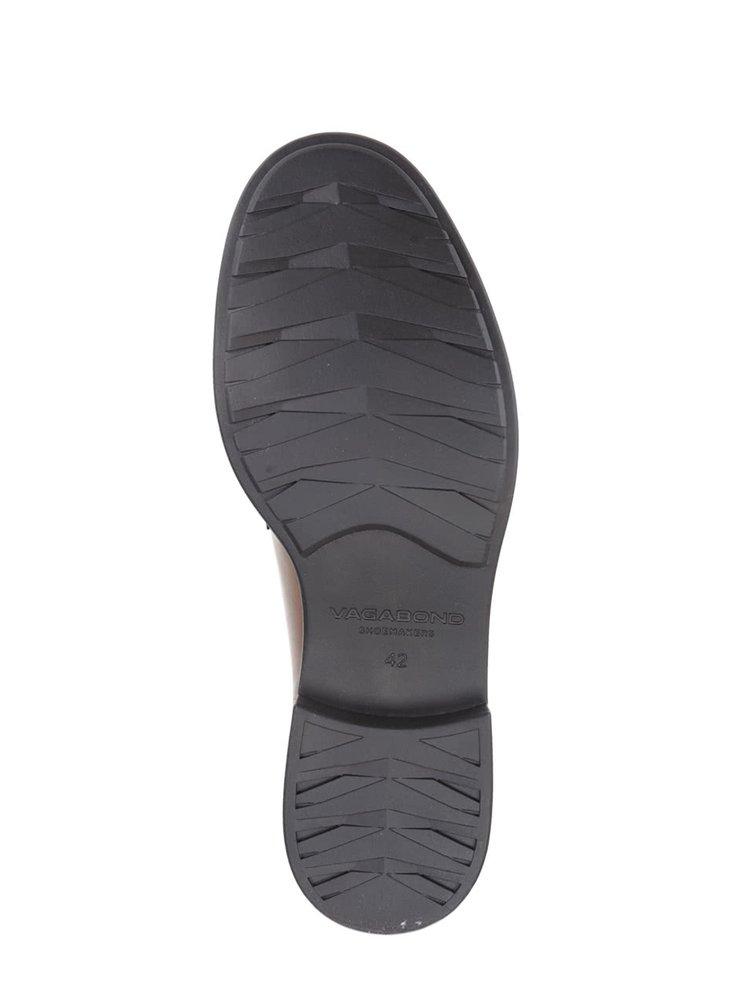 Pantofi maro din piele Vagabond Edward cu șiret