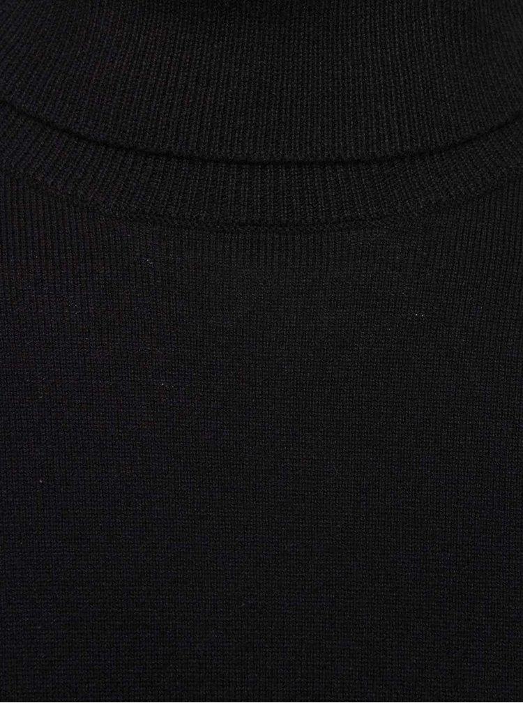 Černý lehký rolák Burton Menswear London
