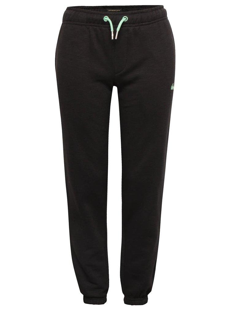 Pantaloni sport negri Quiksilver pentru băieți