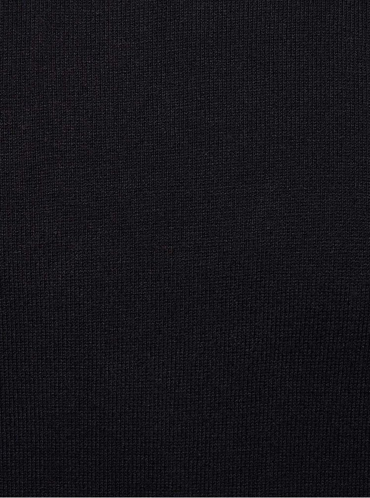 Čierny ľahký rolák Burton Menswear London
