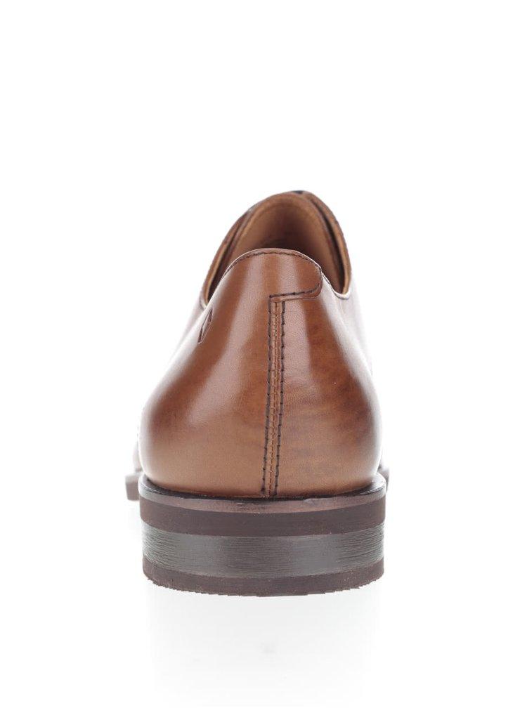 Pantofi maro Vagabond Grafton din piele